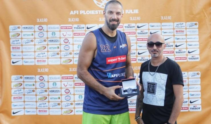 Virgil Stănescu a fost desemnat cel mai bun jucător al turneului