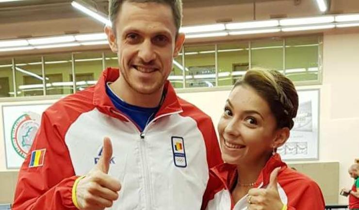 Ovidiu Ionescu şi Bernadette Szocs (sursa foto: Facebook Comitetul Olimpic si Sportiv Roman)