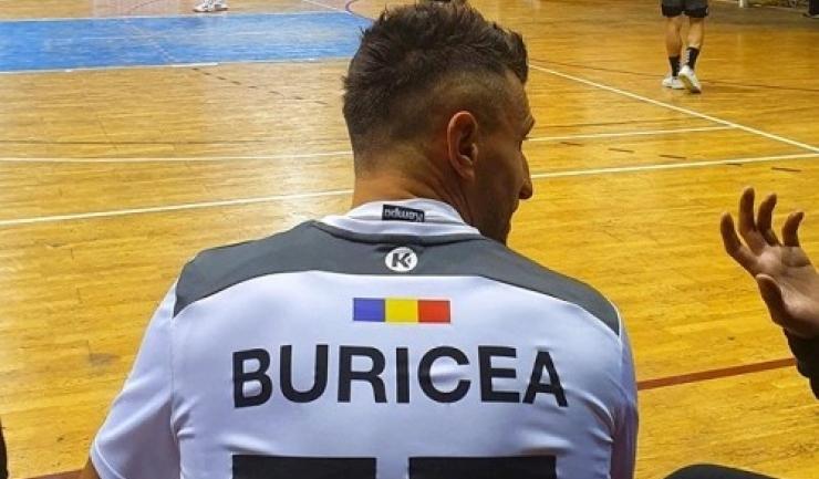 """George Buricea: """"Lăsaţi-mă pe mine să fiu """"scutul"""" lor şi loviţi-mă cât vreţi"""" (sursa foto: Facebook HC Dobrogea Sud Constanta)"""