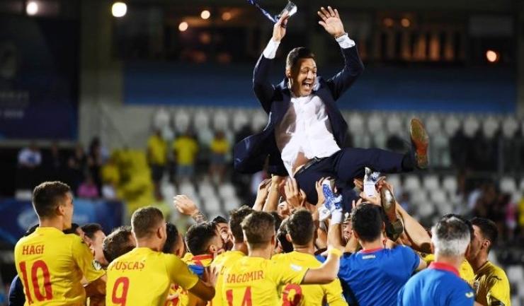 Fotbaliștii români s-au clasat pe primul loc în Grupa C (sursa foto: facebook Echipa Naționala de fotbal a României)
