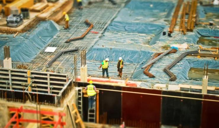 Lucrările de construcții au scăzut cu 2,8%, în august, față de luna precedentă