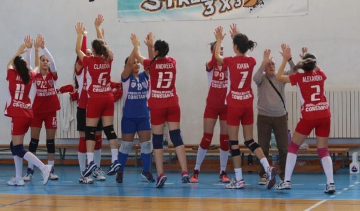 ACS Top Volei 05 Constanța speră la evoluții mai bune în returul campionatului