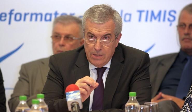 Călin Popescu-Tăriceanu este singurul potențial candidat la președinția ALDE. Cel puțin până acum.