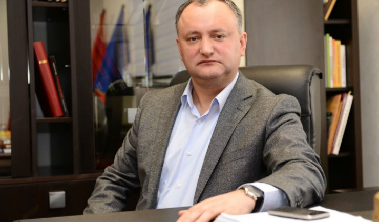 Candidatul pro-rus Igor Dodon a obținut 52,29% din voturile exprimate în R. Moldova