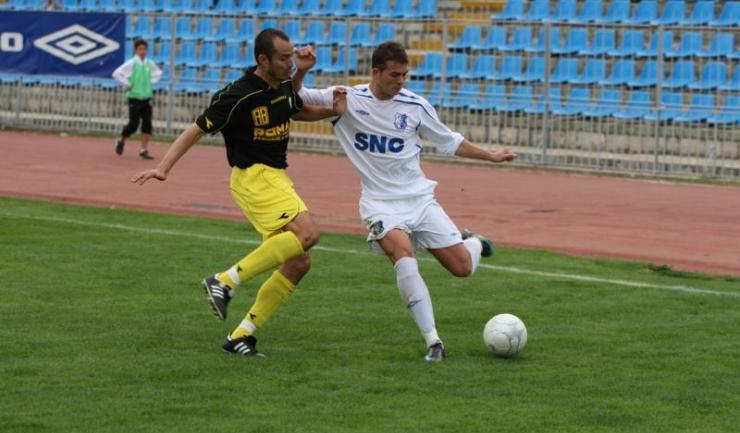 Denis Alibec s-a lansat în fotbalul mare în tricoul Farului