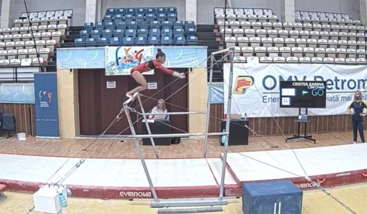 Foto: facebook, Federaţia Română de Gimnastică