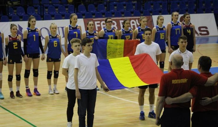 Constanța are două jucătoare în lotul naționalei României sub 17 ani: Cosmina Marinescu (numărul 9 pe tricou) și Alexandra Spînoche (nr. 15)