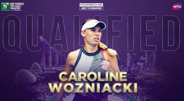 Daneza Caroline Wozniacki a câştigat întâlnirea cu Petra Kvitova (sursa foto: Facebook WTA)