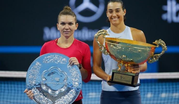 Caroline Garcia a învins-o pe Simona Halep în finala turneului de la Beijing