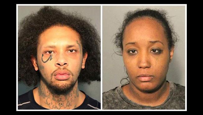 Părinţii - mama, Ina Rogers, în vârstă de 30 de ani, şi tatăl, Jonathan Allen, în vârstă de 29 de ani - au fost reţinuţi la 31 martie la domiciliul lor din Fairfield