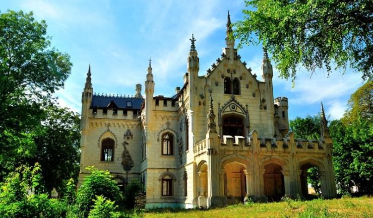 Castelul Sturdza, de la Miclăușeni, Iași