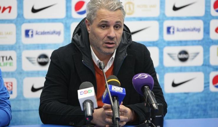 Astra învinge și fără antrenorul Marius Șumudică pe bancă