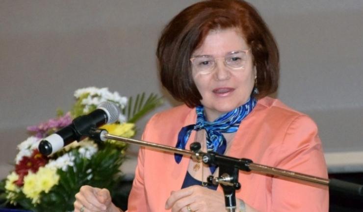 Preşedintele Colegiului Medicilor din Bucureşti, prof. dr. Cătălina Poiană