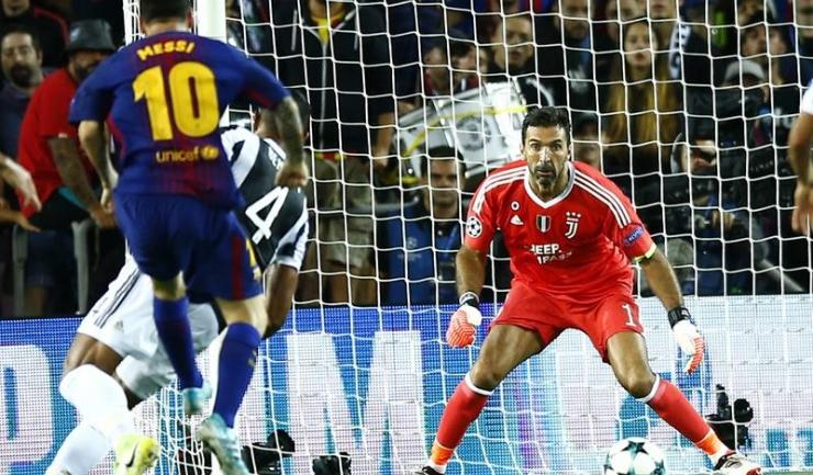 Lionel Messi a reușit să marcheze în premieră în poarta lui Gianluigi Buffon!