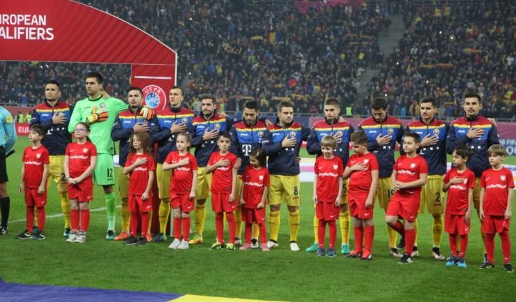 Reprezentativa de seniori a României are șanse reduse de a ajunge la turneul final al Campionatului Mondial de Fotbal din Rusia