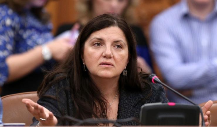 """Ministreasa Justiţiei, Raluca Prună: """"Dar în situația în care aș fi greșit și domniile lor mă conving că este normal să fie așa și că decanul din Paris participă la percheziții împotriva unui avocat, eu voi ieși public și îmi voi cere scuze"""""""