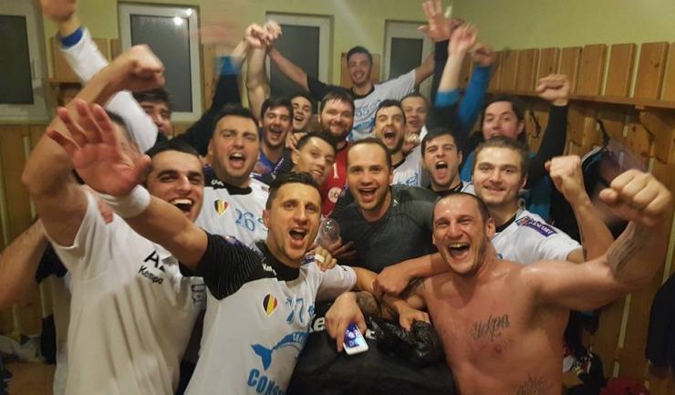 Constănțenii au sărbătorit în vestiar victoria istorică obținută la Odorhei