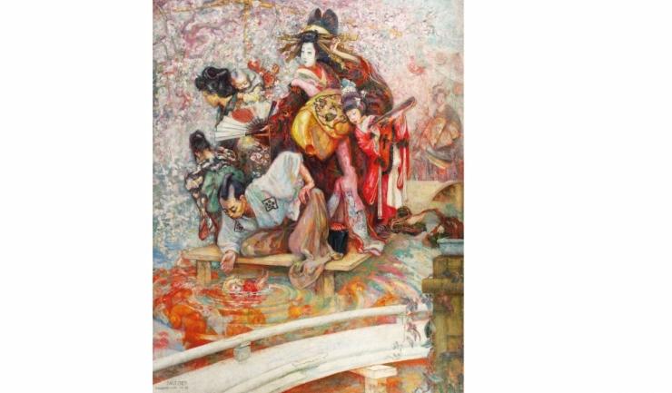 """""""Curtezane din Shimabara"""", de Samuel Mützner"""