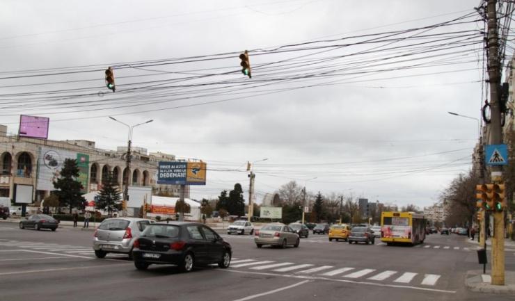 În principalele intersecții din Constanța, cronometrele de la semafoare au fost dezinstalate