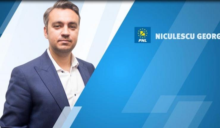 Omul de afaceri George Sergiu Niculescu candidează la Camera Deputaților din partea PNL Constanța, fiind pe poziția a patra pe listă