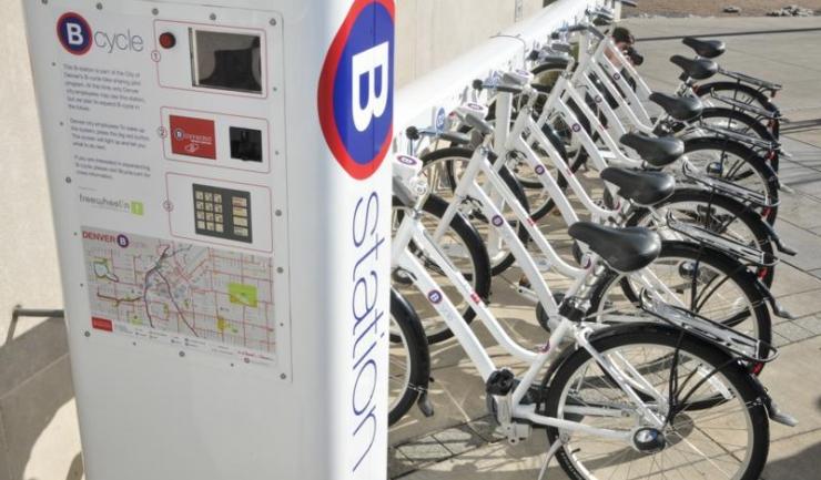 Așa vor arăta toate stațiile de bike-sharing, după montarea bicicletelor ce vor putea fi împrumutate de toți constănțenii și turiștii