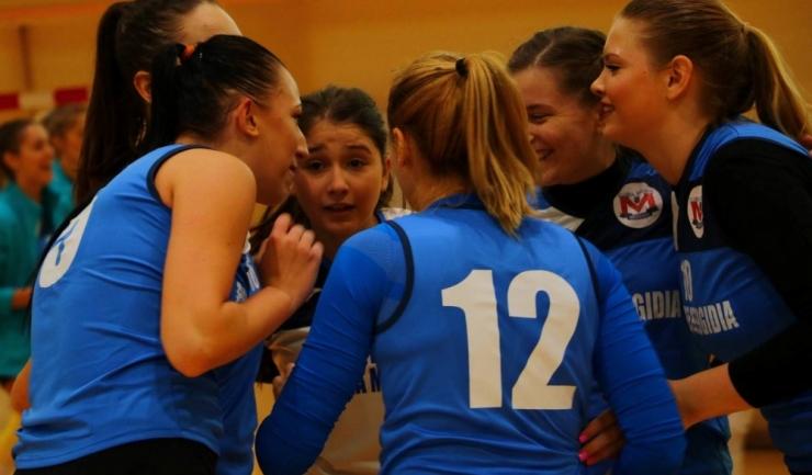 Fetele de la CS Medgidia sunt la două puncte de podium în Divizia A2