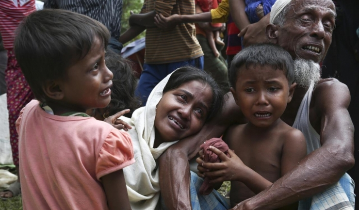 Peste o jumătate de milion de refugiați rohingya riscă să moară de foame