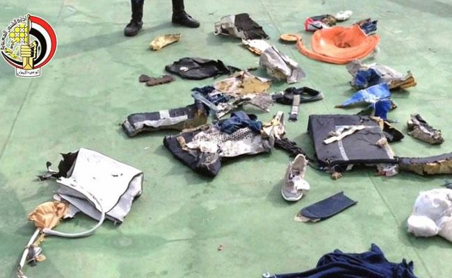 Rămăşiţe recuperate până acum din Mediterana (sursa foto: www.ndtv.com)