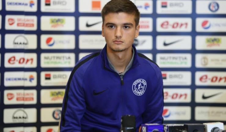 În vârstă de doar 19 ani, Dragoș Nedelcu a fost convocat în premieră la naționala de seniori a României