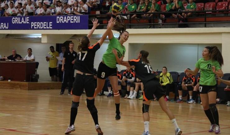 Bianca Căldare a reușit să depășească în dese rânduri defensiva bucureșteană