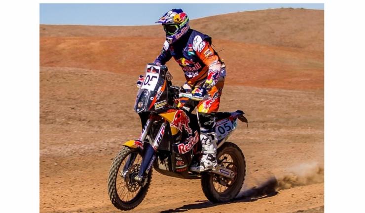 Australianul Toby Price, câștigătorul din 2016 la clasa moto, a abandonat