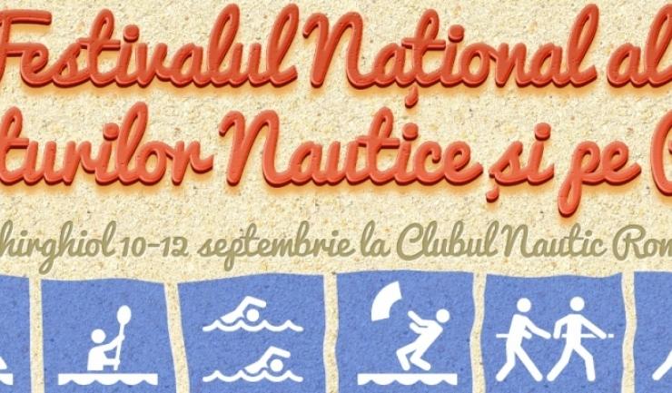 Prima ediție a Festivalului Național al Sporturilor Nautice și pe Plajă va aduce la start peste 150 de sportivi
