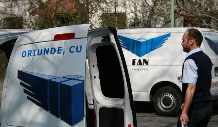 Fan Courier va încheia 2016 cu afaceri de 102 milioane euro, în urcare cu 10 - 15%