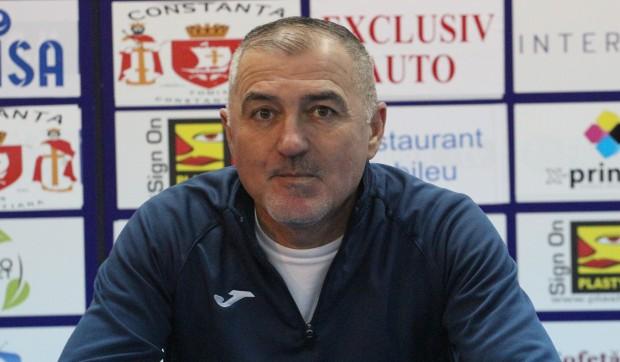 """Petre Grigoraș, antrenor principal SSC Farul: """"Toți așteptăm o victorie"""""""