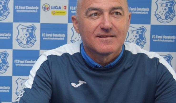 Antrenorul Petre Grigoraș vrea ca jucătorii să demonstreze că evoluția din meciul cu Petrolul a fost un accident