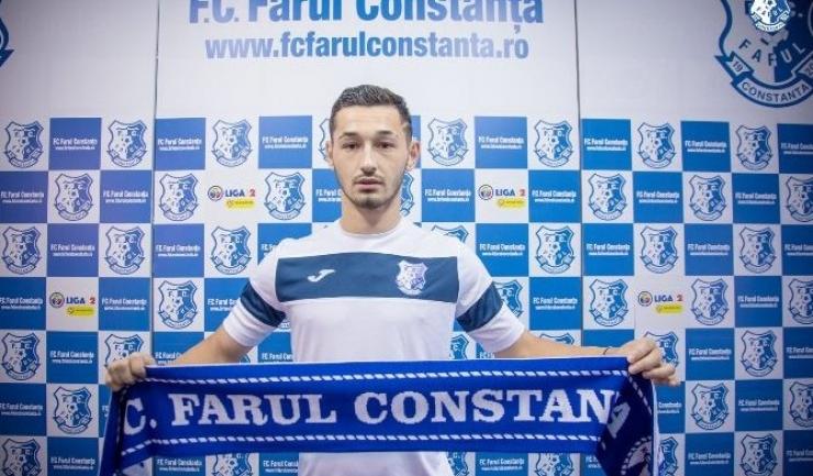 Ștefan Cană vine la Farul de la FCSB (sursa foto: Facebook FC Farul Constanța)