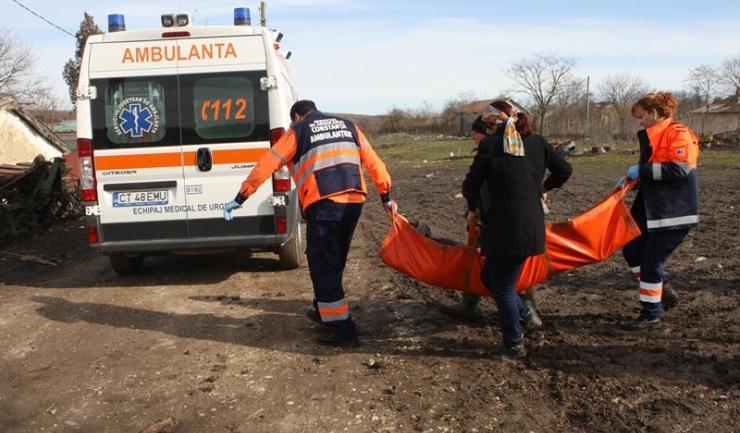 Străbunica Maria a fost transportată la spital