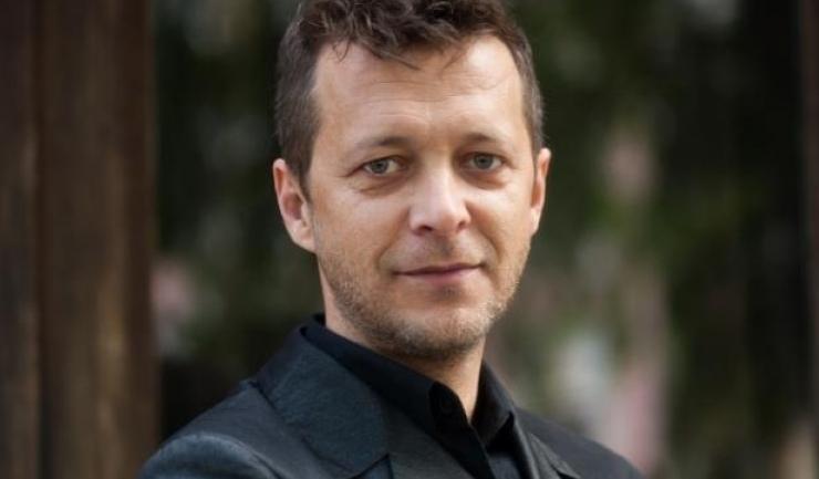 Actorul român Levente Molnar
