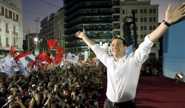 Liderul SYRIZA, Alexis Tsipras, este şi actualul premier
