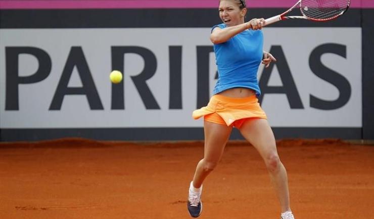 Simona Halep participă în această săptămână la turneul de la Roma, unde anul trecut a ajuns până în semifinale