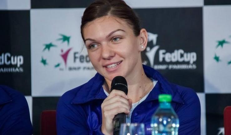 Simona Halep a mai jucat în Fed Cup în urmă cu un an, în duelul cu Spania
