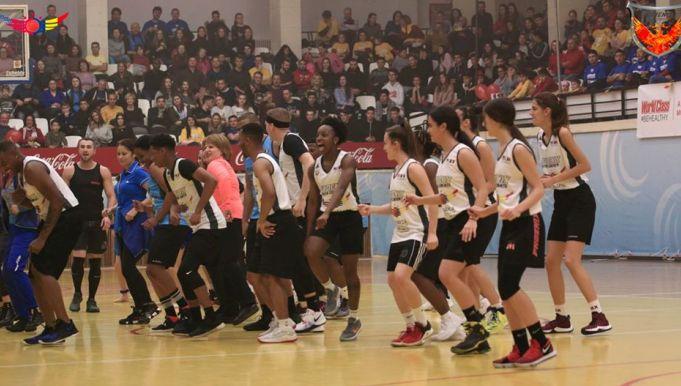 """""""Charity Basketball Game"""" a oferit în fiecare an un spectacol total în Sala Sporturilor"""