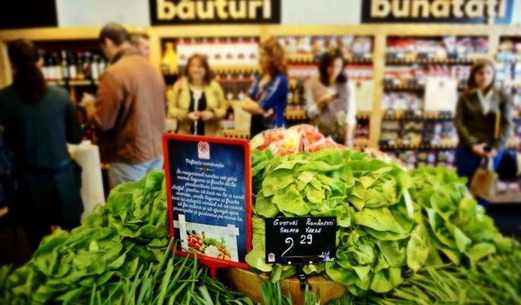 Supermarketurile care nu comercializează cel puțin 51% produse românești vor fi amendate cu 100.000 - 150.000 lei