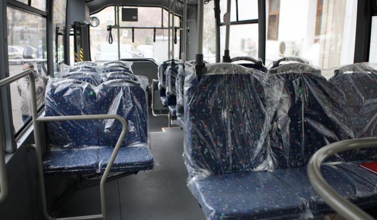Minibuzul Isuzu prezentat Primăriei Constanța este una din variantele luate în calcul pentru achiziționare