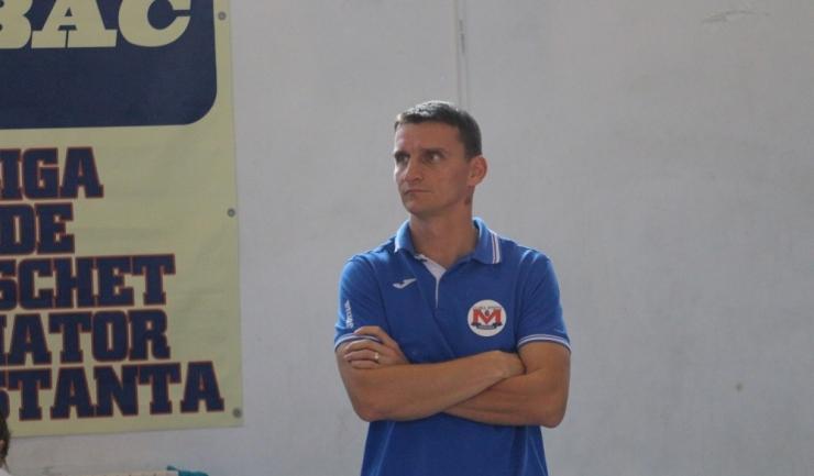 """Florin Voinea, antrenor CS Medgidia: """"CSU Galați este de departe cea mai valoroasă echipă din seria noastră"""""""