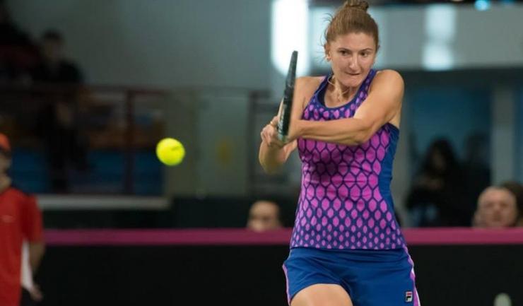 Irina Begu nu va juca împotriva Cehiei din cauza unei accidentări la genunchi