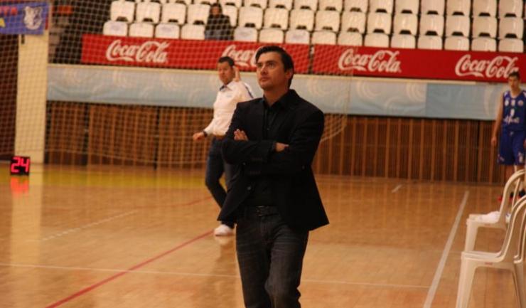 """Alexandru Olteanu, antrenor principal Baschet Club Athletic Constanța: """"Vrem ca din campionatul viitor juniorii să alcătuiască nucleul de bază al echipei și să nu ne mai bazăm atât de mult pe seniori"""""""