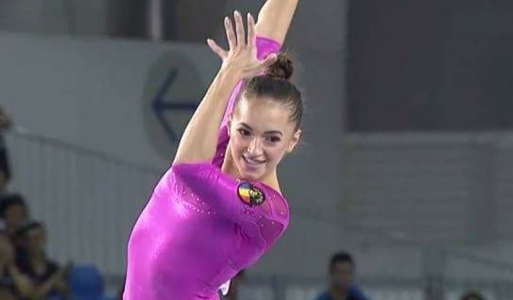 Larisa Iordache a obținut trei medalii la Taipei
