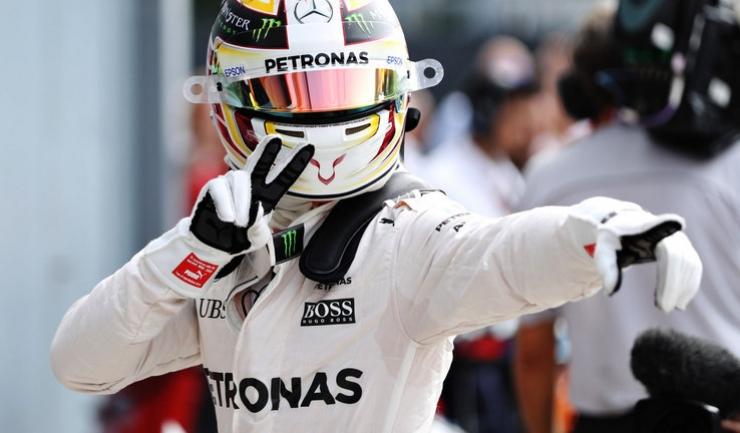 Lewis Hamilton are deja trei victorii pe circuitul de la Monza. Urmează a patra?