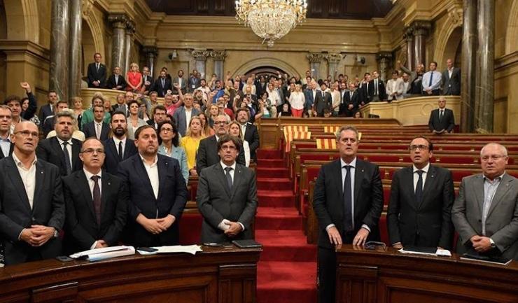 Parlamentarii separatiști catalani se plâng că guvernul spaniol a încălcat drepturile omului